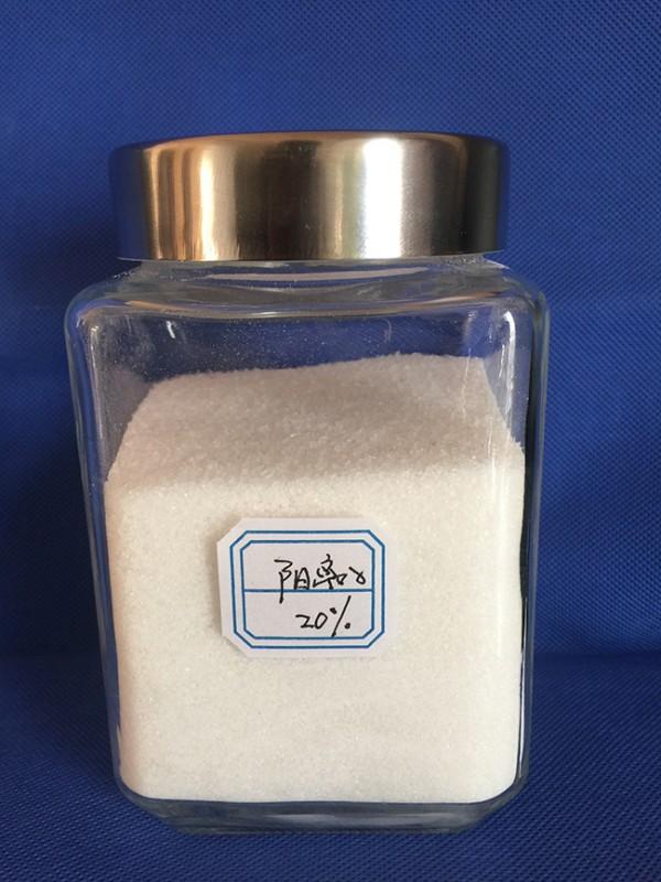 潍坊20%阳离子聚丙烯酰胺